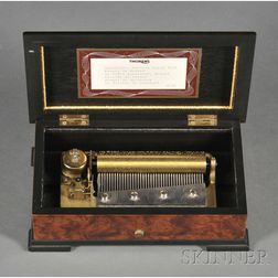 Miniature Musical Box by Thorens