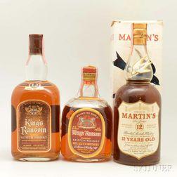 Mixed Scotch, 2 1-quart bottles 3 4/5-quart bottles 1 750ml bottle