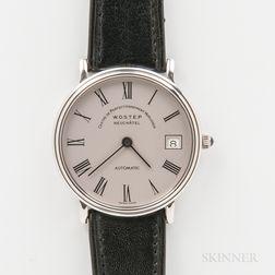 """WOSTEP """"Longines"""" Automatic Wristwatch"""