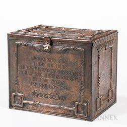 Copper Boxed Perpetual Calendar