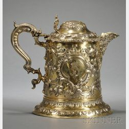Important George III Silver-gilt Flagon
