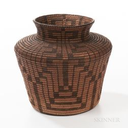Southwest Basketry Olla