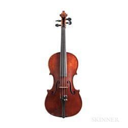 Italian Violin, Andrea Bentoni, Milan, 1905