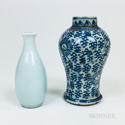Two Ceramic Vessels