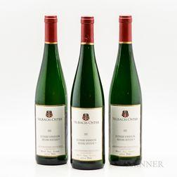 Selbach-Oster Riesling Zeltlinger Sonnenuhr Spatlese* 2002, 3 bottles