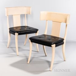 Suite of Eight Klismos Chairs