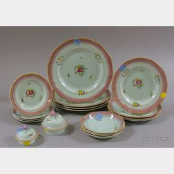Sixteen-piece Adams Calyx Ware Partial Dinner Set
