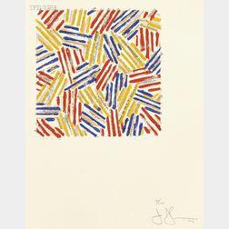 Jasper Johns (American, b. 1930)      Untitled
