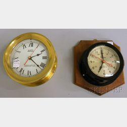 Two Quartz Wall Clocks