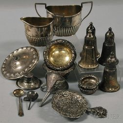 Group of Small Mostly Sterling Silver Items