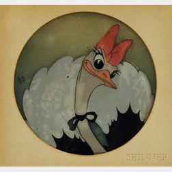 Walt Disney Studios (American, 20th Century)      Fantasia, Dancing Ostriche