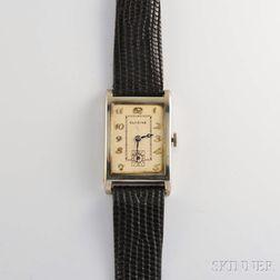 Glycine 18kt White Gold Manual-wind Wristwatch