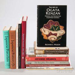 Fourteen Books on Japanese Ceramics