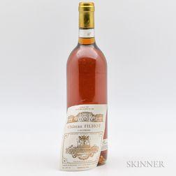 Filhot Creme de Tete 1990, 1 bottle