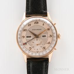 Movado Triple Calendar Wristwatch