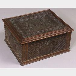Regina 15 1/2-inch Table Disc Musical Box