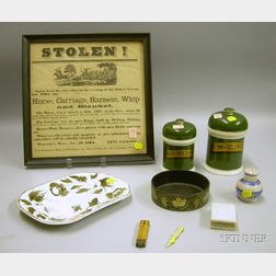 Group of Miscellaneous Americana and Collectible Articles