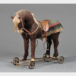 Large Horse Pull-toy