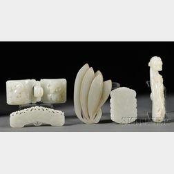Five Jade Items