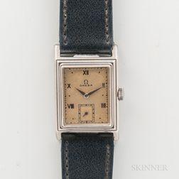 "Rare Omega ""Marine Standard CK 3683"" Wristwatch"