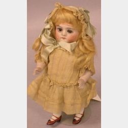 All Bisque Girl Doll