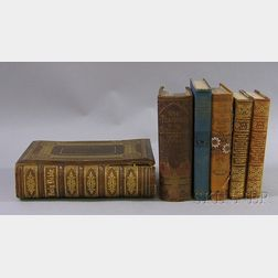 Six 19th and Early 20th Century Decorative Bound Books