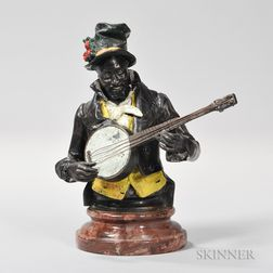 Figure of a Banjo Player