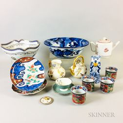 Group of Porcelain Tableware