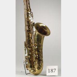 French Tenor Saxophone, Selmer & Company, Paris, 1950, Model Super Balanced Action