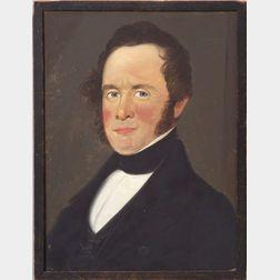 Prior/Hamblin School, 19th Century    Portrait of a Gentleman.