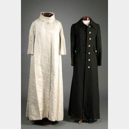 Two Vintage Evening Coats
