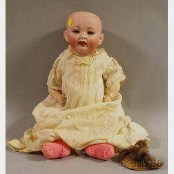 German Bisque Head Bent Limb Baby Doll