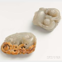 Two Jade Carvings