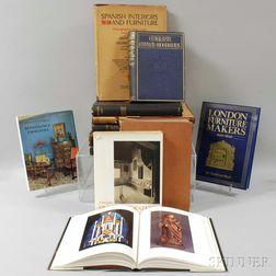 Thirteen Books on European Decorative and Fine Arts