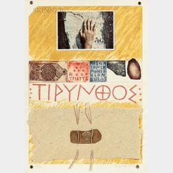 Joe Tilson (British, b. 1928)      Proscinemi, Tyrins