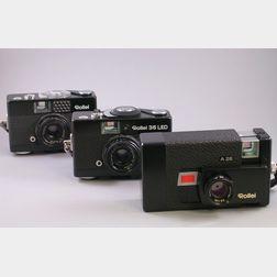 Three Rollei 35mm Cameras