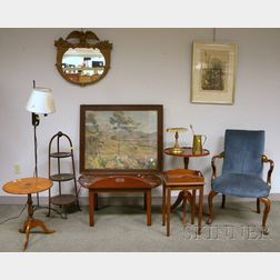 Twelve Assorted Furniture and Decorative Items
