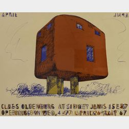 Claes Oldenburg (American, b. 1929)      Claes Oldenburg at Sidney Janis 1967