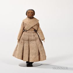 Small Wooden Doll