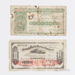Two British North Borneo Company Notes