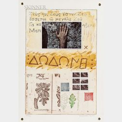 Joe Tilson (British, b. 1928)      Proscinemi, Dodona, Oracle of Zeus