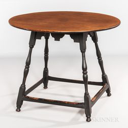 Oval Scrub-top Tea Table