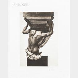 George Hoyningen-Huene (Russian/American, 1900-1968)      Three Platinum Prints: Greek Decoration, Paris, 1934