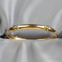 18kt Tricolor Gold Bracelet, Cartier