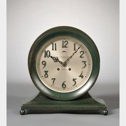 """""""Commodore"""" Ship's Bell Clock  by Chelsea"""