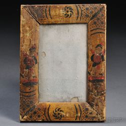 Small Paint-decorated Mirror