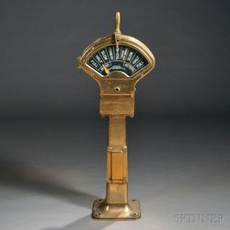 Siemens Brothers & Co. Brass Ship's Engine Order Telegraph