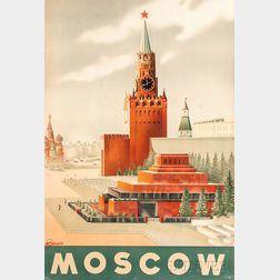 Sergei Sakharov (Russian, 1906-1969)      Moscow