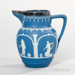 Adams Solid Dark Blue Jasper Jug