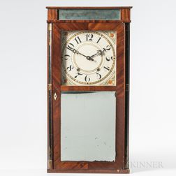 Silas Hoadley Shelf Clock